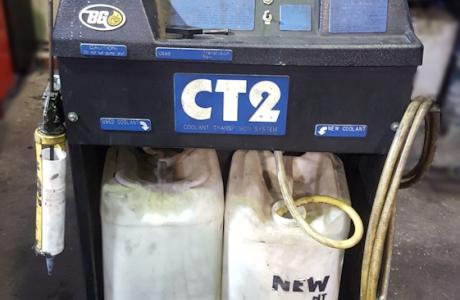BG사의 CT2 냉각수 교환기